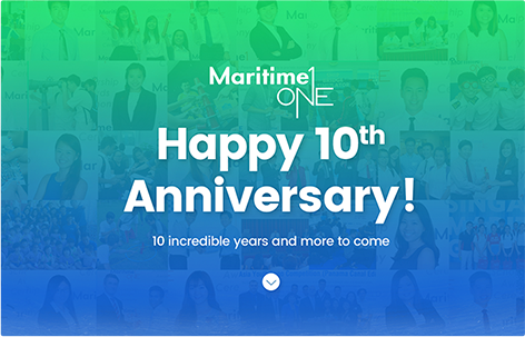 MaritimeONE 10th Anniversary Website